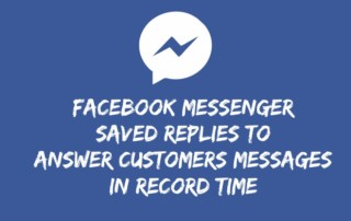Use Facebook Saved Replies to Answer Customer Messages in Record Time