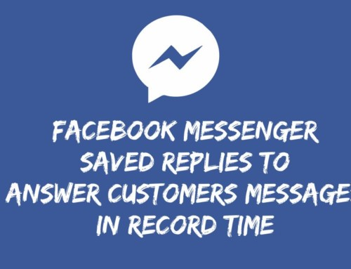 Use Facebook Saved Replies in Record Time